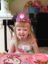 silly bday girl