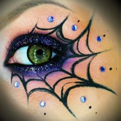 pro spideweb makeup